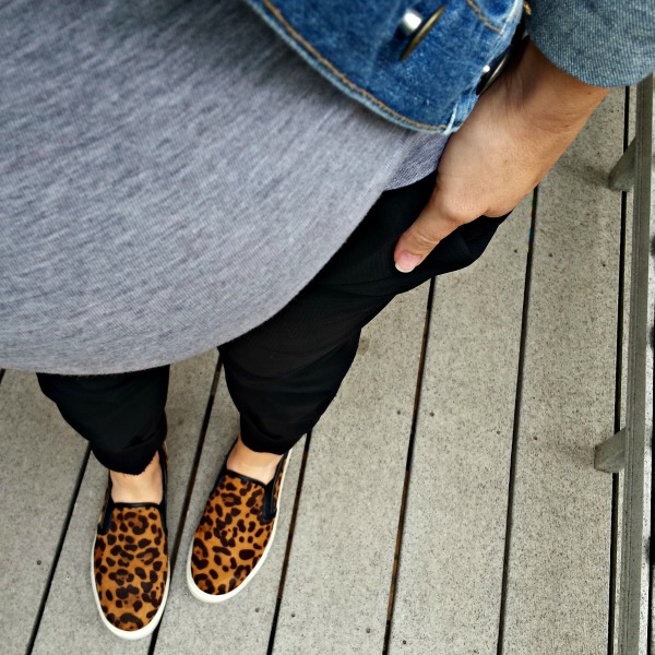 leopard slipons