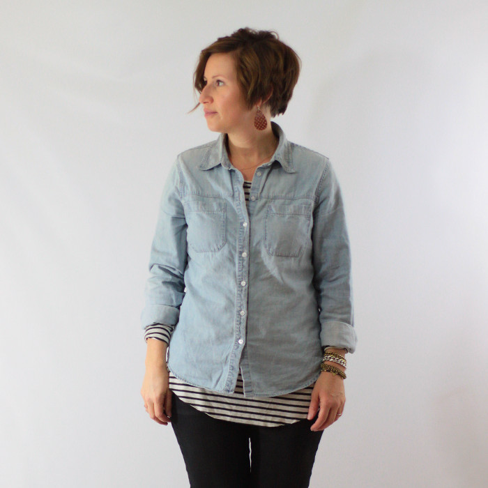 chambray and stripes 1