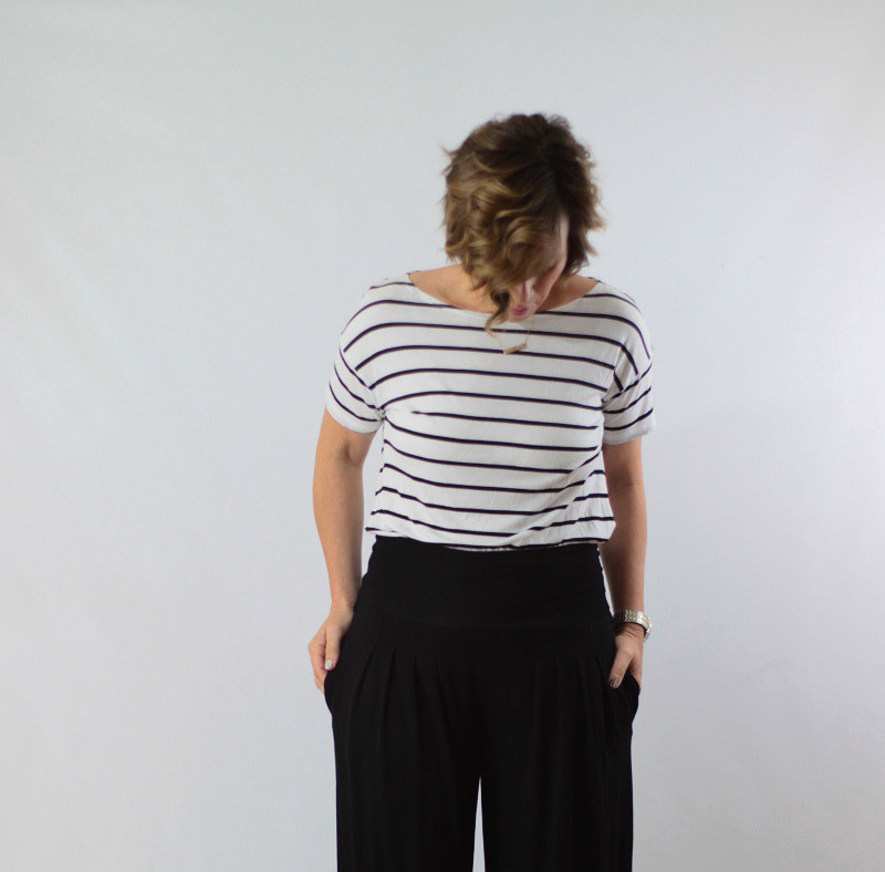 wide leg and stripes 2