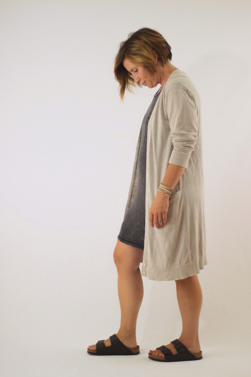 imby dress and cardi