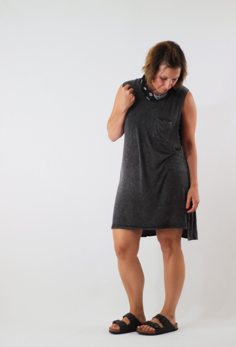imby dress with bandana