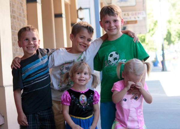 cousins in Glenwood