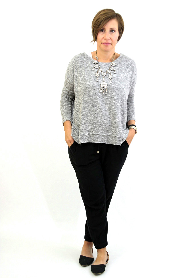 drapey-pants-gray-sweater-1