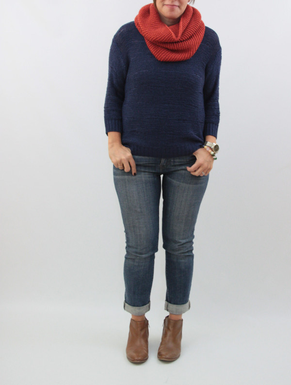 navy and rust knits 3