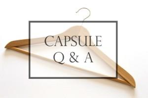 Capsule Q & A