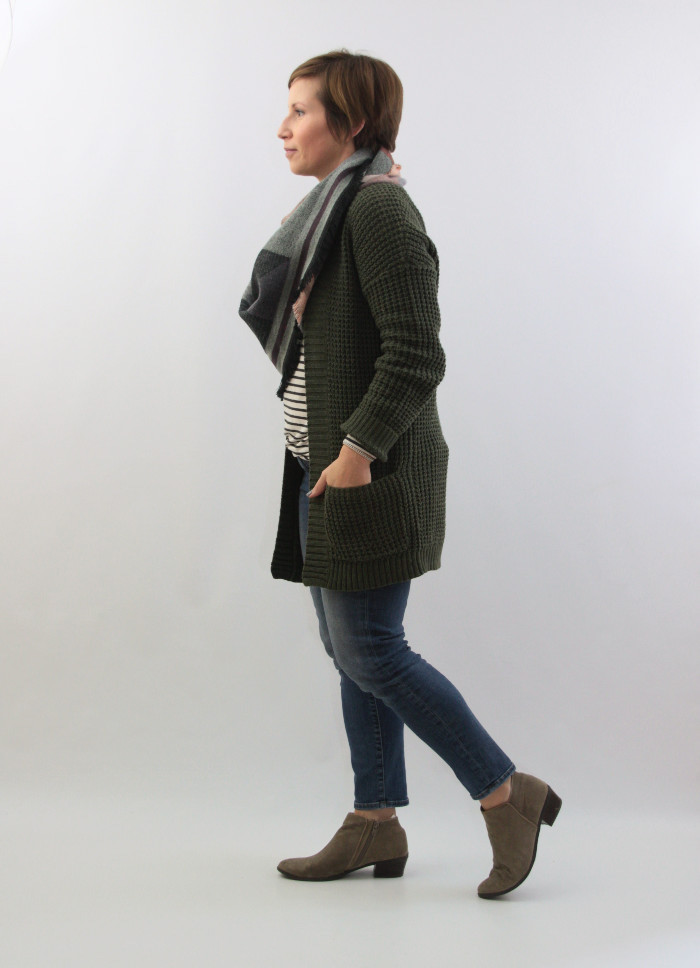 cardigan and scarf 2