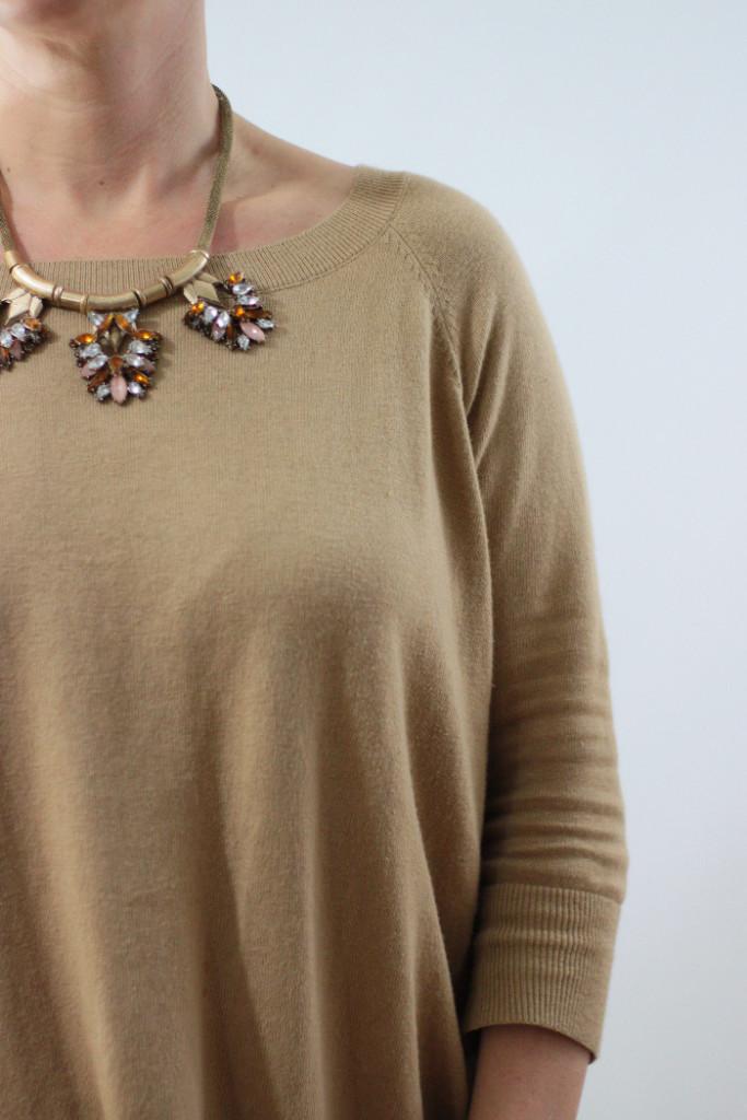 express camel sweater