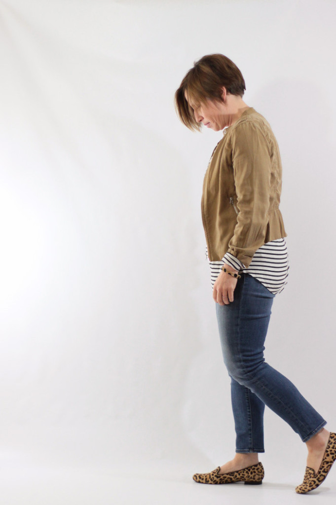 striped tee and jacket 3