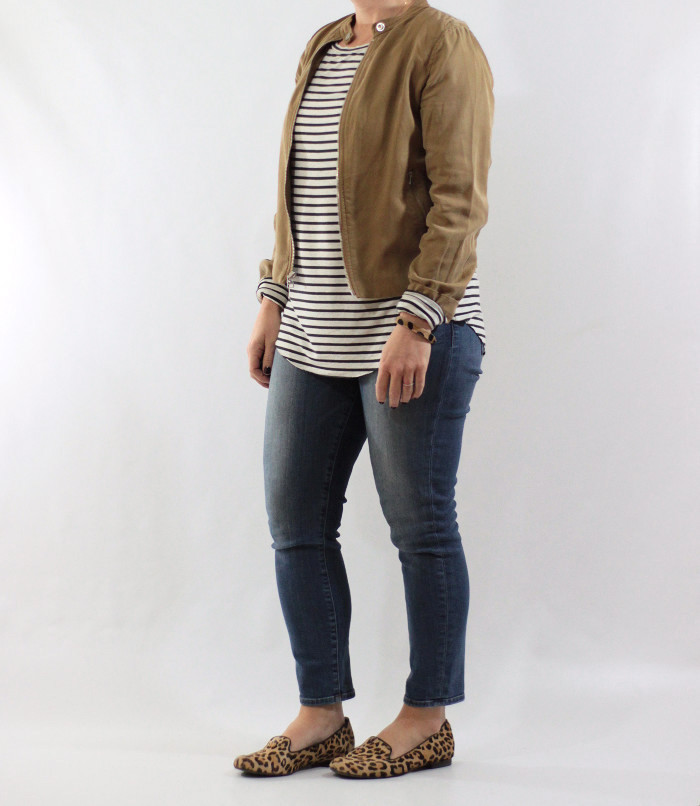 striped tee and jacket 4