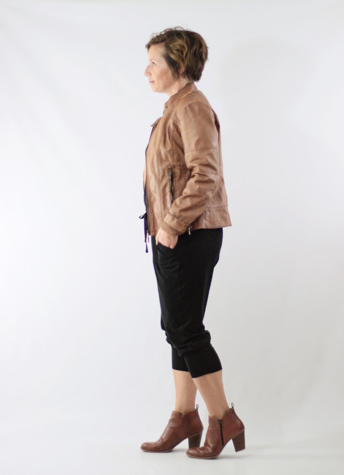 joggers and faux leather 3