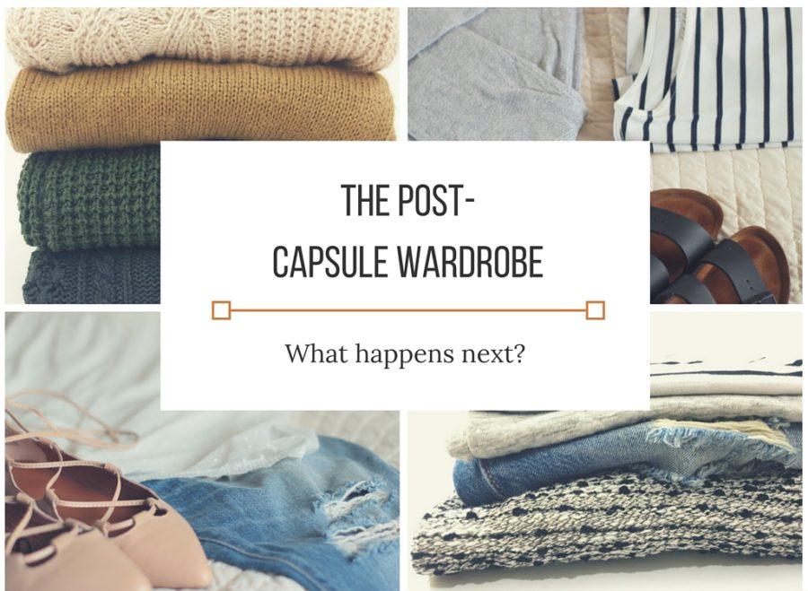 post capsule wardobe