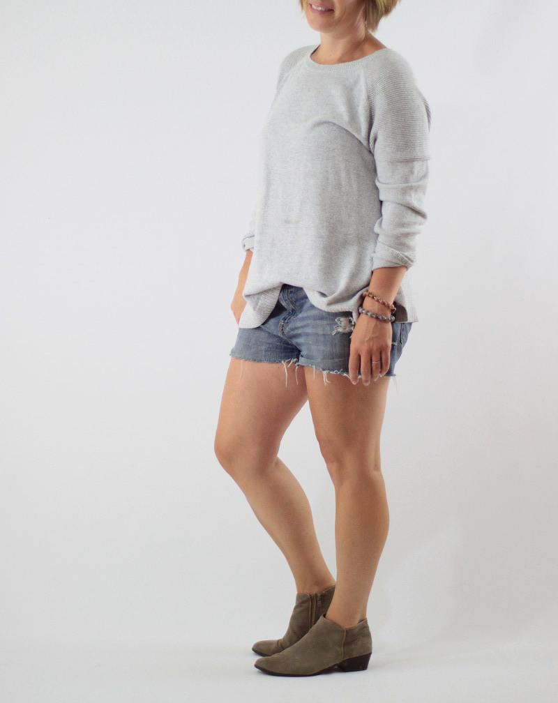 denim shorts 1