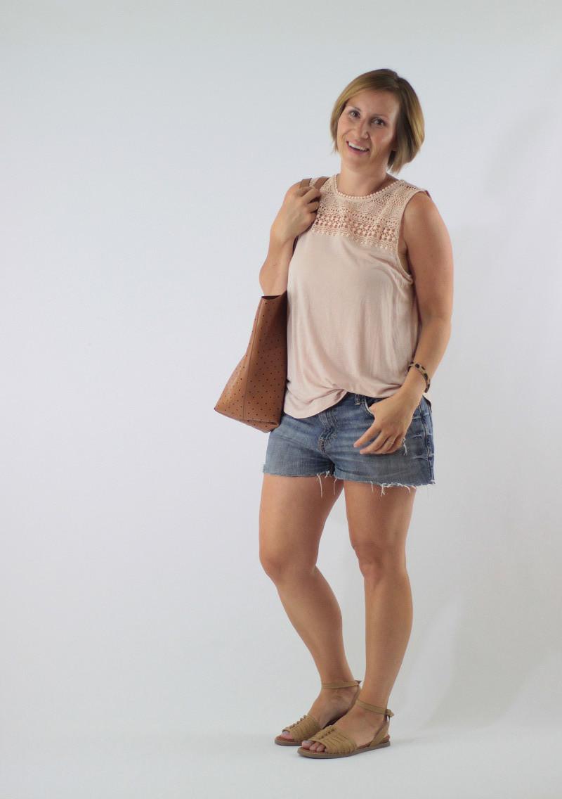 denim shorts 3
